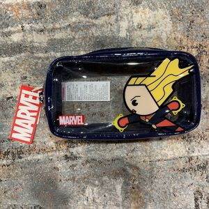 🆕Clear Pencil/Makeup case Wonder Women by Marvel